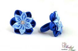Gumka do włosów niebieska dla dziewczynki