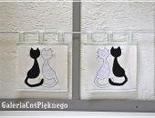 zazdrostka firaneczka ozdoba zasłonka kot kotek kotki