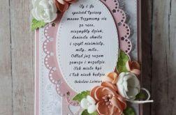 Kartka ślubna z wierszem 01