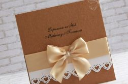 Zaproszenie na ślub Vintage