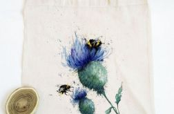 oset i pszczoły malowane