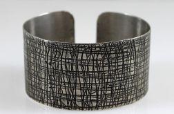 Metalowa bransoleta - kora 171029-01