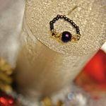 komplet barnsoletka i pierścionek hematyt
