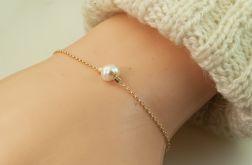 Bransoletka perłowa, Złota bransoletka perłow