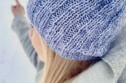 czapka błękit