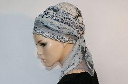 lekki turban WĘŻOWY