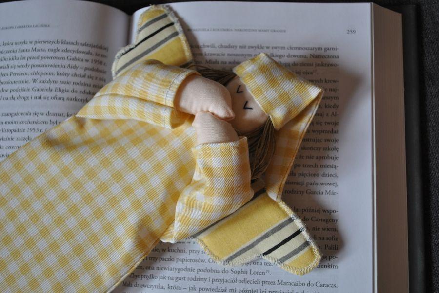 Zakładka do książki - anioł słoneczny
