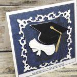 Kartka- Gratuluję Pani Magister - kartka dla pani magister