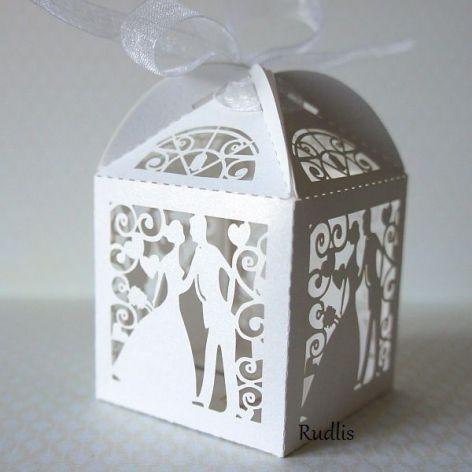 Podziękowania - koronkowe pudełka#3