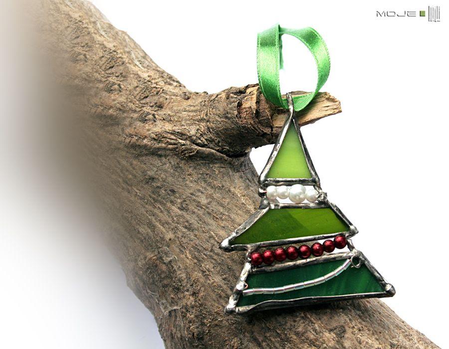Choinka mini 12 - dekor świąteczny