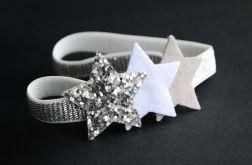 FairyBows opaska trzy gwiazdki