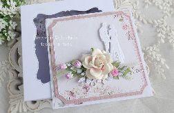 Ślubna kartka w pudełku 462