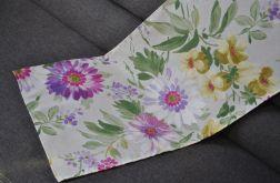 Bieżnik - fioletowe kwiaty 40 x 135