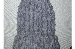 Mięciutka czapka z POMPONEM