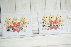 Kartka dla trojaczków