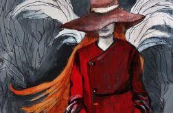 Obraz na sklejce ''Anioł przejścia''