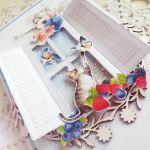Kartka urodzinowa DL Berrylicious 3 GOTOWA -