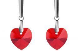 Kolczyki czerwone serca