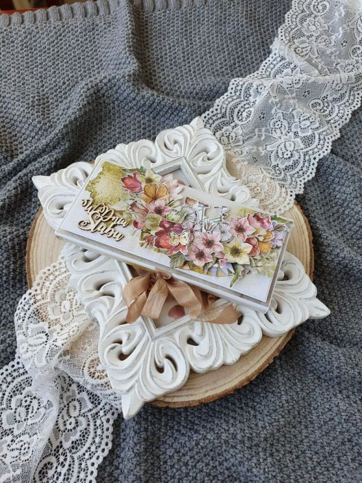 Czekoladownik ślubny ręcznie robiony