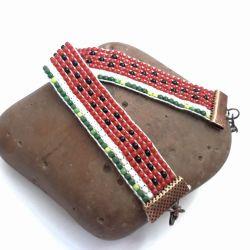 Arbuzowa bransoletka