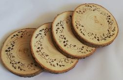 Naturalne plastry drewna