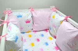 Modułowy ochraniacz do łóżeczka 6 szt N15