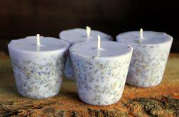 10 x Świeczka świeca lawendowa