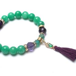 Chwościk mint and violet /17.12.18/