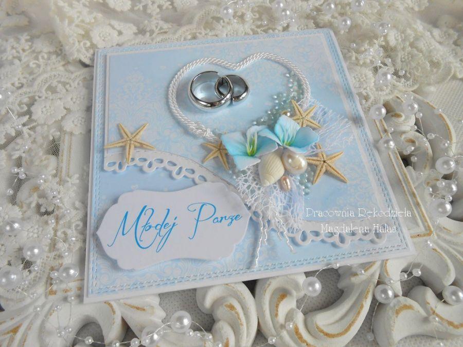 Ślubna kartka w pudełku 48 -