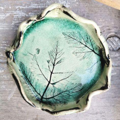 Ceramiczny  talerzyk (c35)