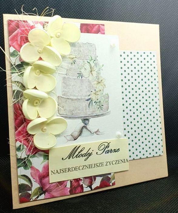 Kartka ślubna #4 - 2