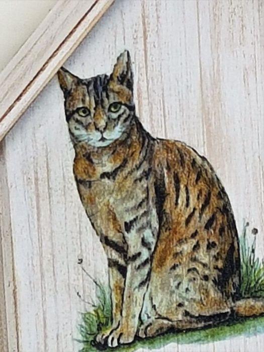 Wieszak  (jego wysokość) Kot