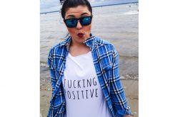T-shirt Fucking Positive