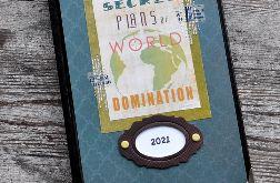 Kalendarz książkowy A5 układ dzienny 2021