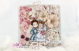 Kartka ślubna - Tilda & Edwin