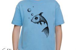Ryba - t-shirt 2-14 lat (różne kolory)