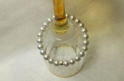 149. Bransoleta z pereł szklanych 8mm