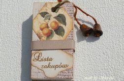 Lista na zakupy ' słodkie owoce '