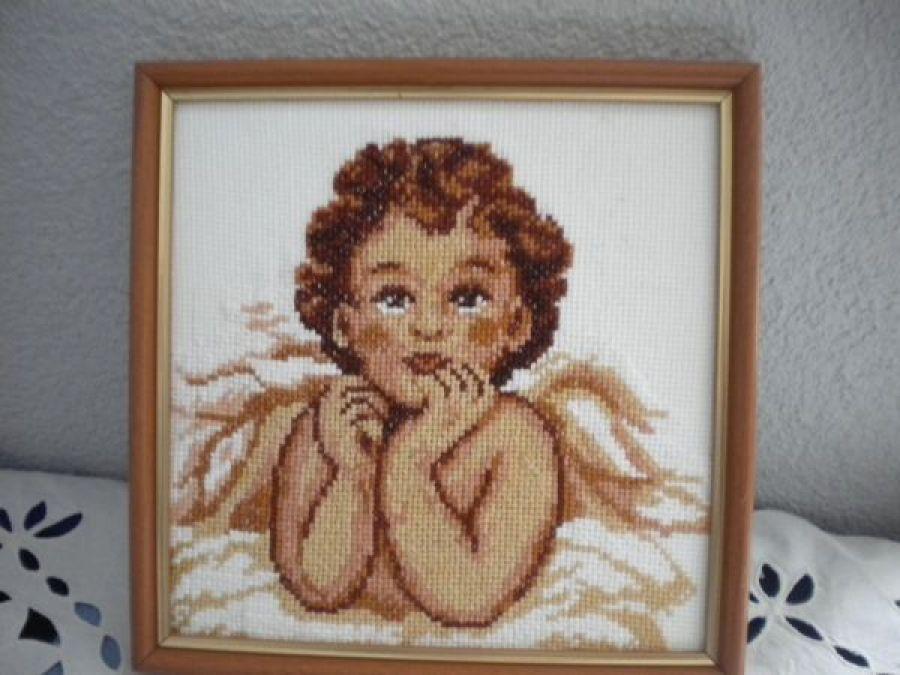 Obraz - Zamyślony anioł