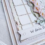 Kartka ślubna - Lewy róg