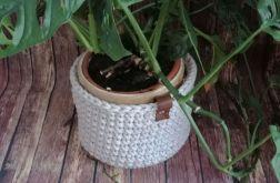"Koszyk ""Linen"" ze sznurka bawełnianego ."