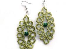 |Zielone frywolitki # zielony