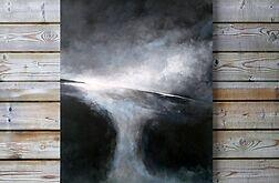 Abstrakcja w czerni i bieli