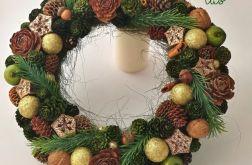 Las - wianek świąteczny