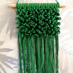 Makrama makatka dekoracja ścienna w stylu boho MS0105 -