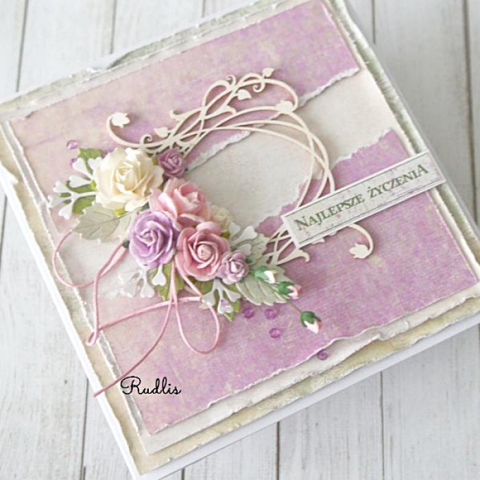 Kartka dla Babci - Najlepsze życzenia