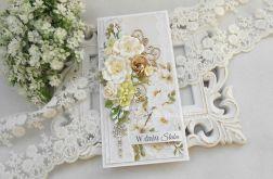 Ślubna kartka DL w pudełku 95