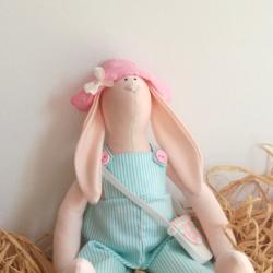 Lalka handmade królik tilda przytulanka