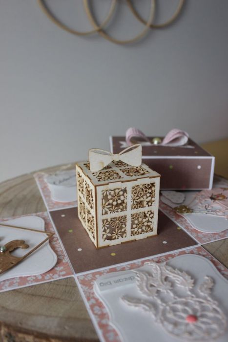 Pudełko niespodzianka - Kolorowe żuczki