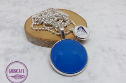 Medalion - Niebieskie szkiełko - Fabricate